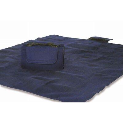 Mega Navy Mat Rug Size: 58 x 610