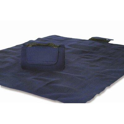 Mega Navy Mat Rug Size: 4 x 5
