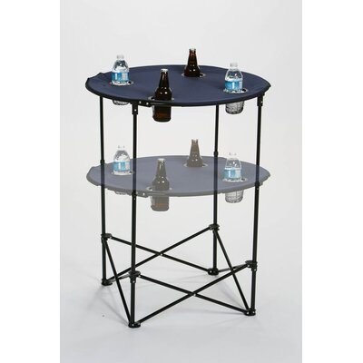 Picnic Plus by Spectrum Scrimmage Tailgate Table - Color: Navy
