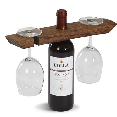 Gauger Wine Barrel Glass Caddy