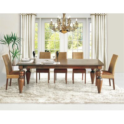 Flower Dining Table Size: 94 L x 44 W x  30.5 H