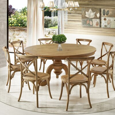 Firmin Dining Table Size: 55 L x 55 W x 31 H