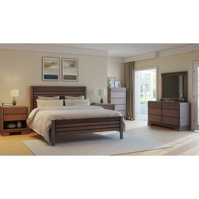 Vienna Platform 3 Piece Bedroom Set Color: Cinnamon