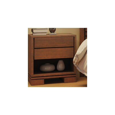 Vienna 2 Drawer Night Stand Color: Cinnamon