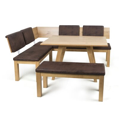 Desouza 3 Piece Dining Set Finish: Almond