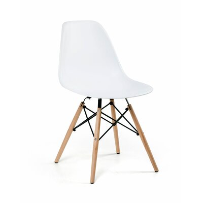 Rittenhouse Solid Wood Dining Chair Color: White