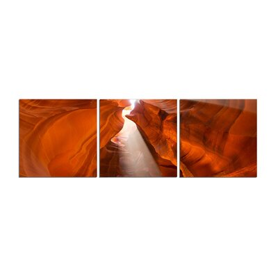Antelope Canyon 3 Piece Graphic Art Set Size: 20