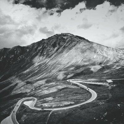 Grossglokner High Alpine Road in Austria by Herbert Schroer Photographic Print on Wrapped Canvas 408abc-i