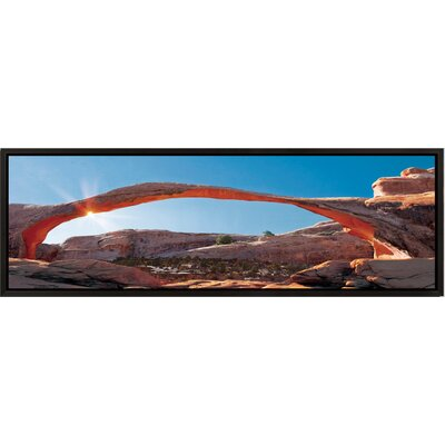 Landscape Panorama Arches National Park Framed Photographic Print