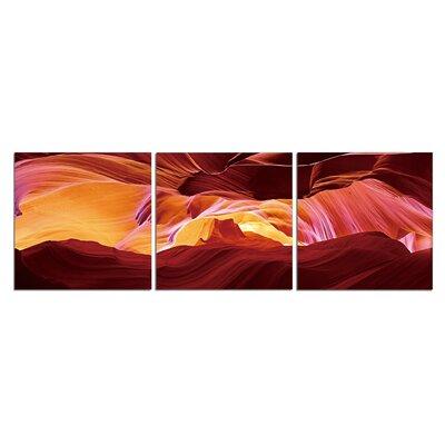 'Sunburn Colors' Graphic Art Print Multi-Piece Image on Canvas