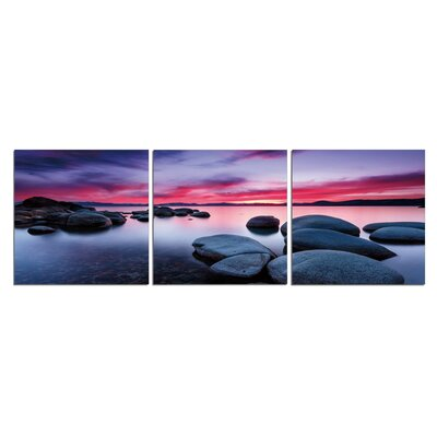 'Lake Tahoe' Photographic Print Multi-Piece Image on Canvas Size: 20
