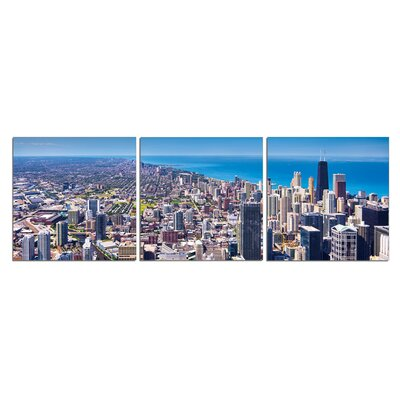'City of Broad Shoulders' Photographic Print Multi-Piece Image on Canvas Size: 20