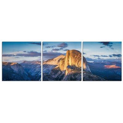 'Yosemite Dome' Photographic Print Multi-Piece Image on Canvas Size: 20