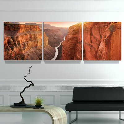 'Toroweap Dominion' Photographic Print Multi-Piece Image on Wrapped Canvas Size: 20