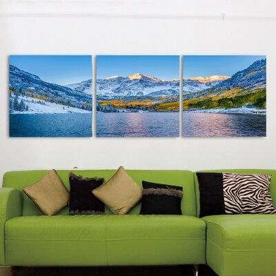 'Maroon Bells Colorado' Photographic Print Multi-Piece Image on Canvas Size: 20