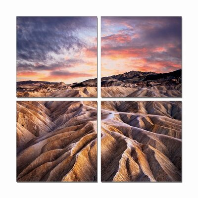 'Mountian View' Photographic Print Multi-Piece Image on Wrapped Canvas