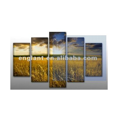 'Sunrise on the Prarie' Photographic Print Multi-Piece Image on Wrapped Canvas