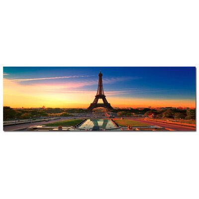 'Eiffel Sun' Photographic Print on Canvas