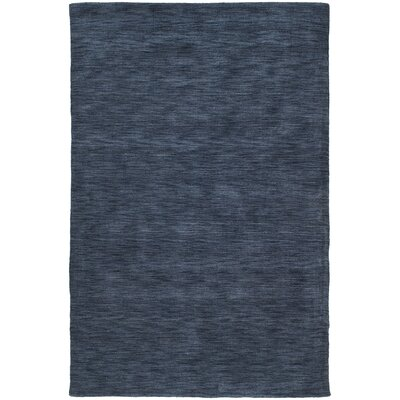 Regale Wool Blue Rug Rug Size: Rectangle 76 x 9