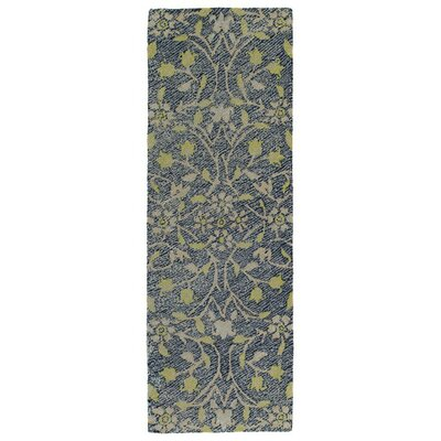 Merrisa Handmade Yellow Indoor/Outdoor Area Rug Rug Size: 5 x 76