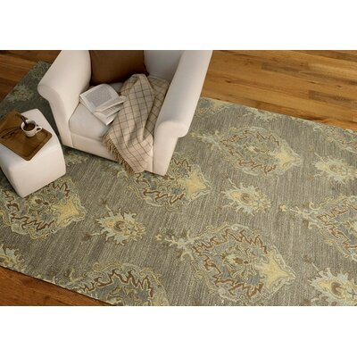 Dartmoor Hand-Tufted Taupe Area Rug Rug Size: Rectangle 5 x 76