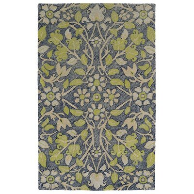 Merrisa Handmade Yellow Indoor/Outdoor Area Rug Rug Size: 9 x 12