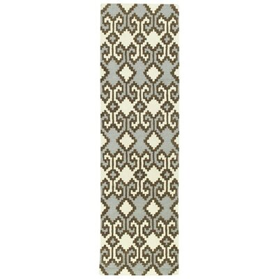 Hinton Charterhouse Hand-Tufted Ivory Area Rug Rug Size: Runner 2'3