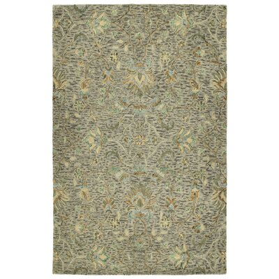 Toshiro Hand Tufted Wool Taupe Area Rug Rug Size: Rectangle 4 x 6
