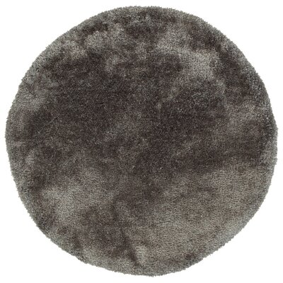 Bieber Taupe Area Rug Rug Size: Round 4