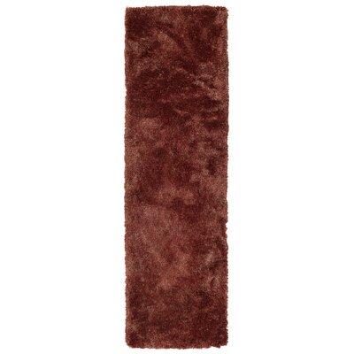 Bieber Cinnamon Area Rug Rug Size: Runner 23 x 8