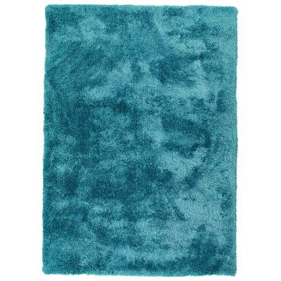 Bieber Teal Area Rug Rug Size: Rectangle 9 x 12