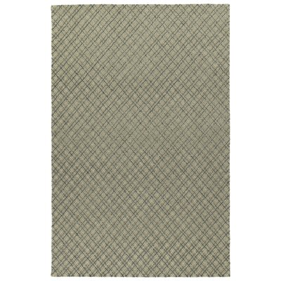 Tahsha Modern Hand Tufted Wool Grey Area Rug Rug Size: Rectangle 8 x 10