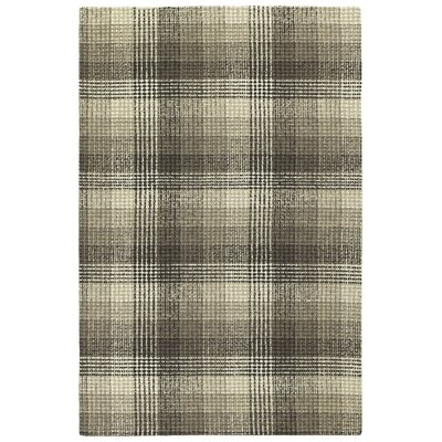 Tahsha Hand Tufted Wool Brown Area Rug Rug Size: Rectangle 8 x 10