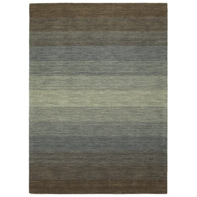 Fortune Hand Tufted Wool Brown Area Rug Rug Size: 76 x 9