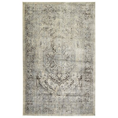 Jada Spa/Linen Area Rug Rug Size: Rectangle 92 x 126