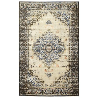 Jada Chocolate/Linen Area Rug Rug Size: Rectangle 11 x 3