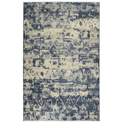 Jada Denim/Linen Area Rug Rug Size: Rectangle 53 x 73