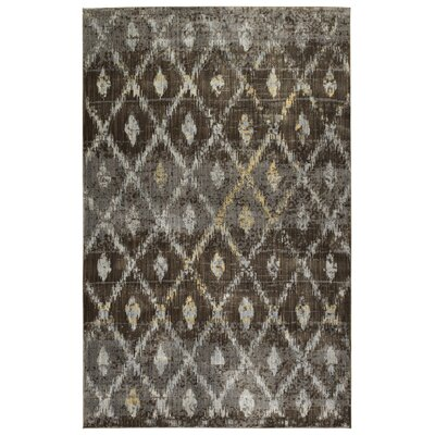 Jada Chocolate Area Rug Rug Size: Rectangle 92 x 126