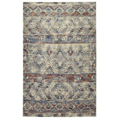 Jada Linen Area Rug Rug Size: Rectangle 53 x 73
