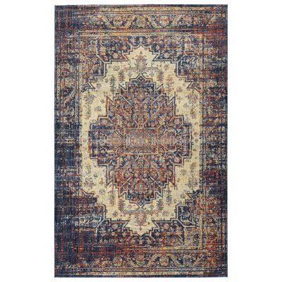 Lyonsdale Linen Area Rug Rug Size: Rectangle 92 x 126