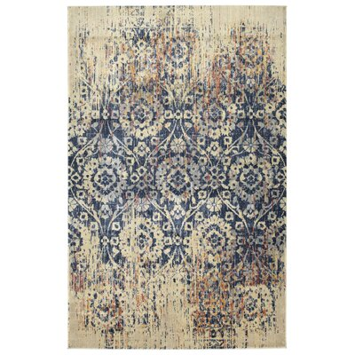 Maidenstone Linen Area Rug Rug Size: Rectangle 92 x 126