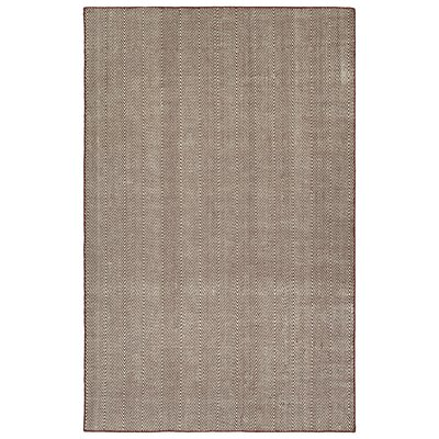 Buell Hand Woven Burgundy Indoor/Outdoor Area Rug Rug Size: Rectangle 5 x 76