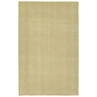 Buell Hand Woven Gold Indoor/Outdoor Area Rug Rug Size: Rectangle 3 x 5