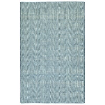 Buell Hand Woven Denim Indoor/Outdoor Area Rug Size: Rectangle 8 x 10