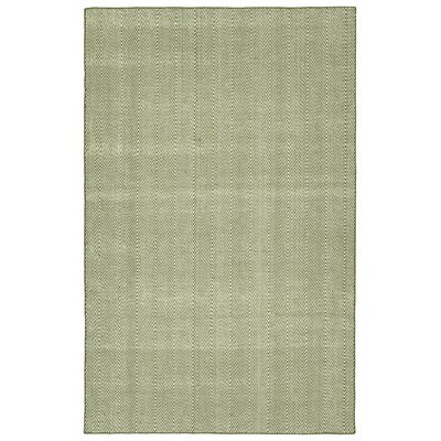 Buell Hand Woven Olive Indoor/Outdoor Area Rug Rug Size: Rectangle 2 x 3