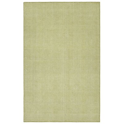 Buell Hand Woven Wasabi Indoor/Outdoor Area Rug Rug Size: Rectangle 5 x 76