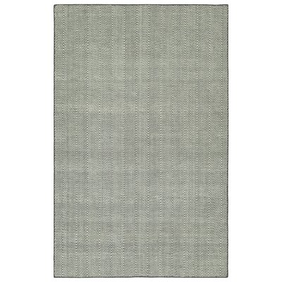 Buell Hand Woven Grey Indoor/Outdoor Area Rug Rug Size: Rectangle 5 x 76