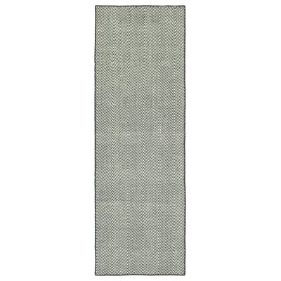 Buell Hand Woven Grey Indoor/Outdoor Area Rug Rug Size: Runner 2 x 6