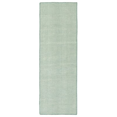 Buell Hand Woven Blue Indoor/Outdoor Area Rug Rug Size: Runner 2 x 6