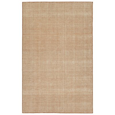 Buell Hand Woven Orange Indoor/Outdoor Area Rug Rug Size: Rectangle 8 x 10